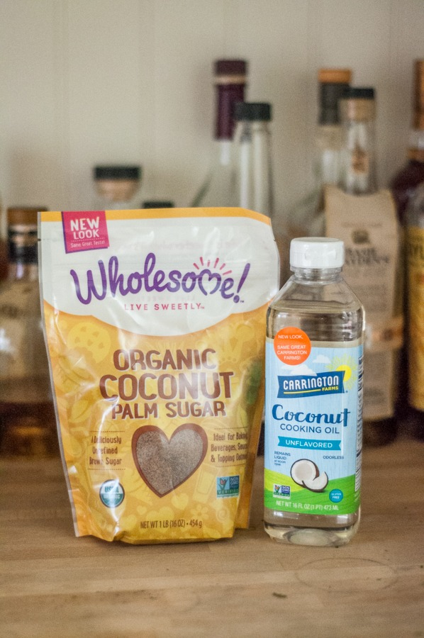 Coconut sugar, coconut oil for baking, oil, coconut products, wholesome, organic, usda organic, baking, cooking oil, coconut cooking oil, carrington farms, carrington, sugar, brown sugar, idea, diy, recipes, recipe, summer squash, squash bread, zucchini bread, carrot cake, vegetables